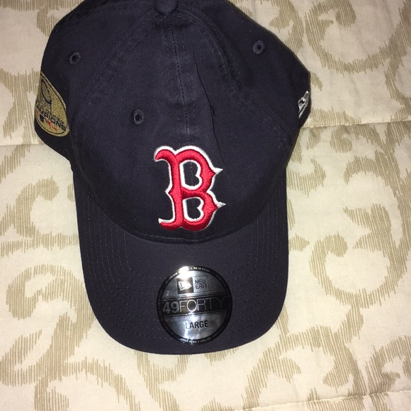 new concept 3c5cc 21d32 Boston Red Sox world series champions MLB hat NWT